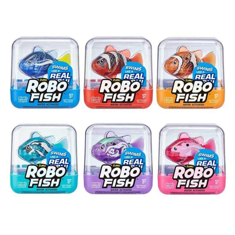 Zuru+Robo+Fish+-+RED+-+Dive+Water+Actovated+-+Batteries+Inc+-+Lifelike+Movement
