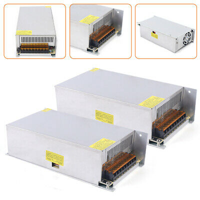Ac 110v-220v To Dc 12v 50a Switch Power Supply Driver Adapter Led Strip Light