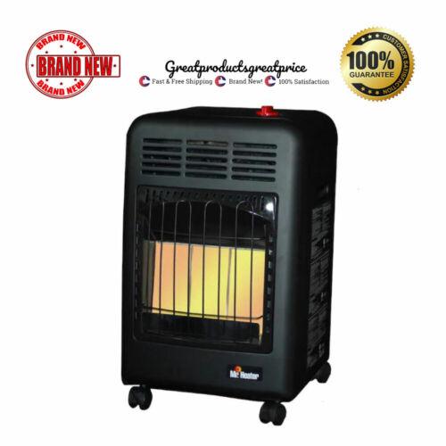 18000 BTU Portable Cabinet Propane Gas Heater Commercial Garage Utility Warmer