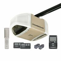 Chamberlain 1/2HP Whisper Belt Garage Door Opener, WITH INSTALL!