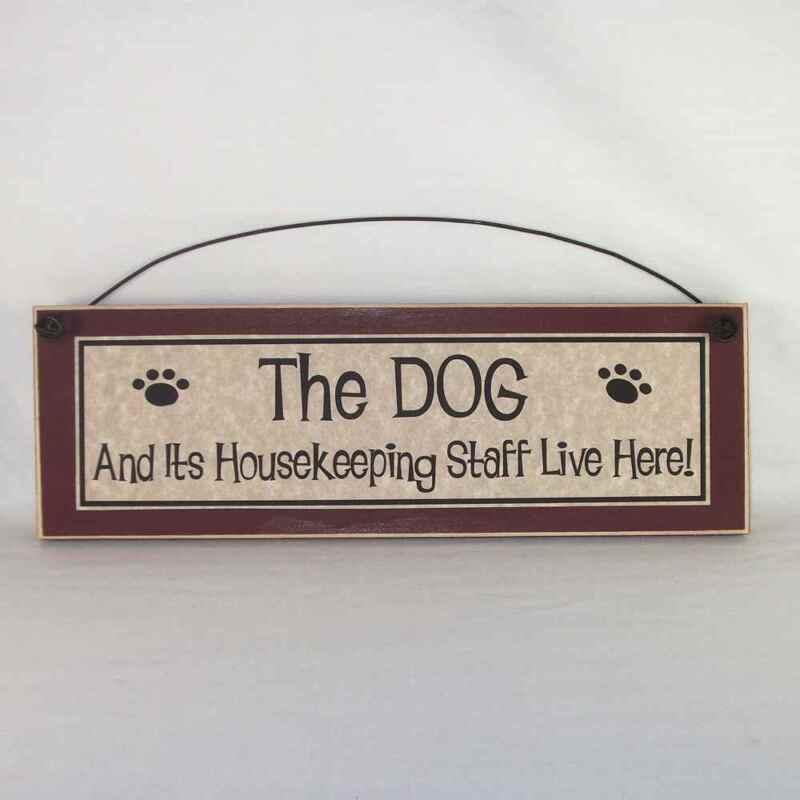 The dog & it