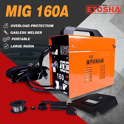 160a Mig Electric Welder Inverter Welding Machine 110v Ac Flux Core Wire Gasless
