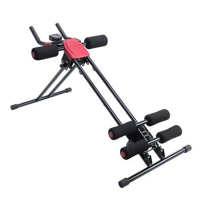 Ab Cruncher Abdominal Trainer Glider Machine Body Fitness Waist Power Exercise Abdominal Exercisers
