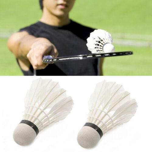Keraiz 12xFeather Badminton Ball Shuttlecocks For Game Outdoor Sport Training UK