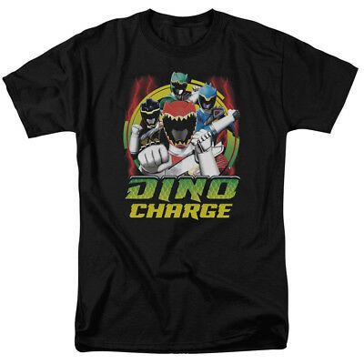 Power Rangers Cartoons Kids (Power Rangers Children's Cartoon TV Series Dino Charge! Adult T-Shirt)