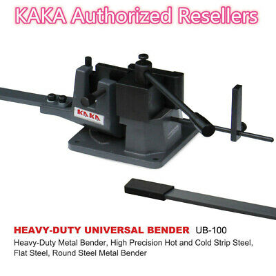 Kaka Ub-100 Universal Bender High Capacity Cast-iron Hot Cold Metal Bar Bender