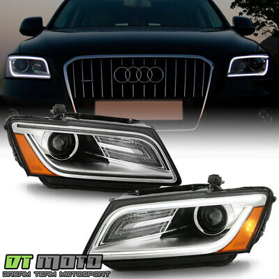 2013-2017 Audi Q5 SQ5 HID/Xenon w/o AFS LED DRL Projector Headlights Headlamps