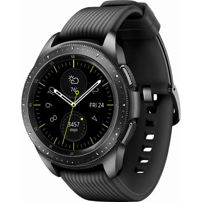 SAMSUNG Galaxy Watch 42mm SM-R810 Smartwatch Bluetooth Only - Midnight Unscrupulous