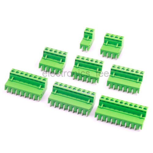 10sets 2EDG 2 4 5 6 7 8 9 10 Plug-in Screw Terminal Block Connector 5.08mm