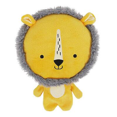 Rosewood Chubleez Leo Lion Dog Toy | Giant Squeaker Crunchy Frisbee Plush...