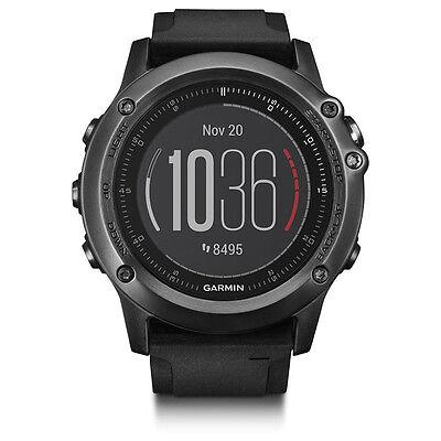 Garmin 010 01338 70 Fenix 3 Hr Gps Watch In Gray With Heart Rate Monitor