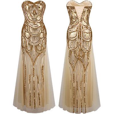 Angel-fashions  Flapper Die große Gatsby Party Formale Abendkleid