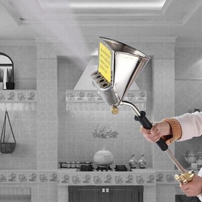 Spray Gun For Painting Walls Cement Mortar Sprayer Hopper 4 Holes Home Decor Hot