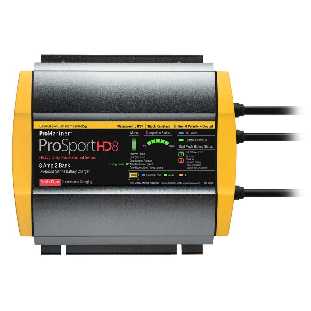 ProMariner ProSport HD 8 Gen 4 Marine Battery Charger 8 Amp