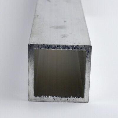 1.5 X 0.125 Aluminum Square Tube 6061-t6-extruded 48.0
