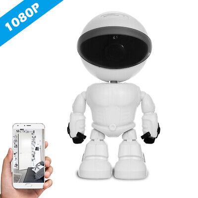 1080P Robot WiFi PTZ CCTV IP Camera Night Vision 2 way Audio Home Security I7I8