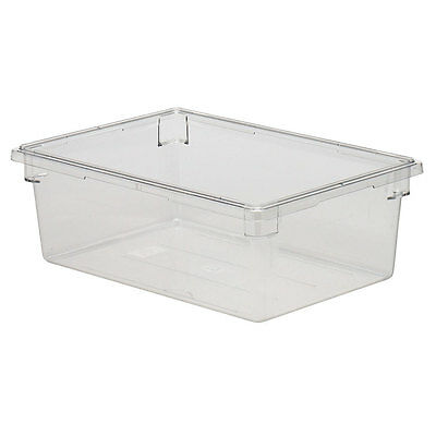 Cambro 18269cw135 Camwear 18x26x9 Clear 13 Gallon Food Storage Container