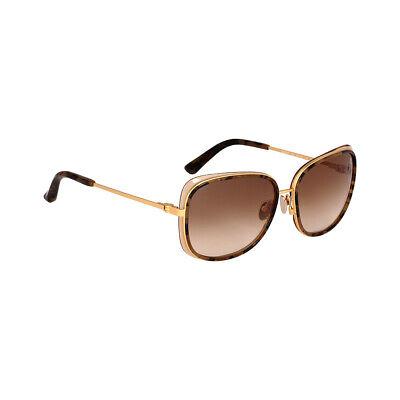 Calvin Klein Acetate Frame Brown Lens Ladies Sunglasses CK8575S356755915262