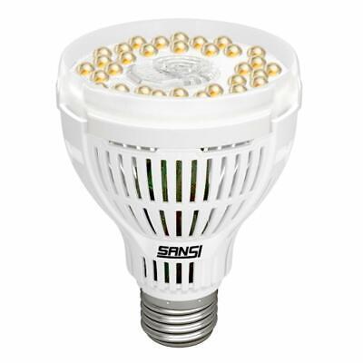 SANSI LED Plant Grow Light Bulb Full Spectrum Full Cycle Indoor Vegetable 15W UV