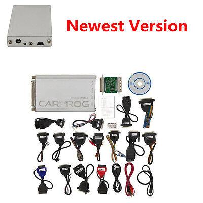 V10.05 Carprog Newest Version 21 Items Adapters Airbag Reset Car PROG Programme comprar usado  Enviando para Brazil