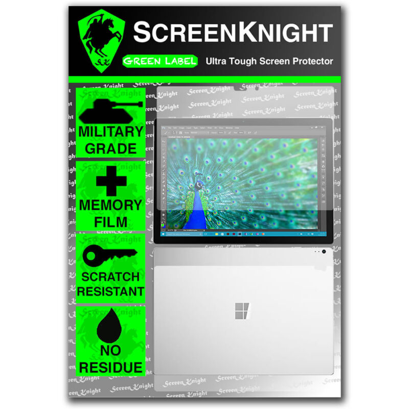 ScreenKnight Microsoft Surface Book (2016) FULL BODY SCREEN PROTECTOR