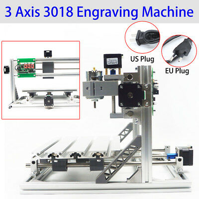 3 Axis Cnc Router Engraver Milling Engraving Carving Machine3018 Grbl Control