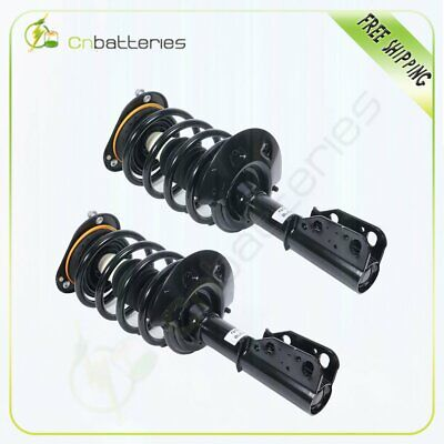 For Cadillac Seville 98-04 Front (2) Pair Quick Shocks Struts & Coil Springs Set