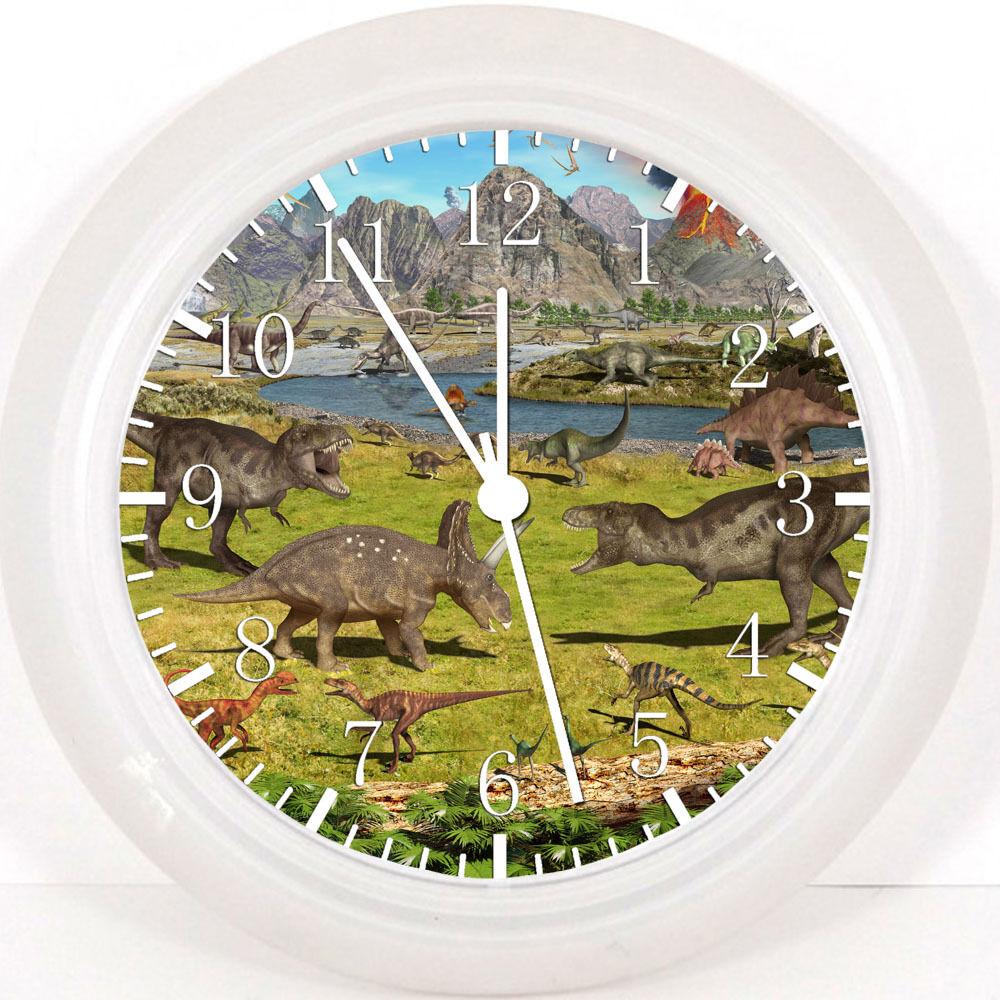 "Dinosaur 10"" Wall Clock W34 Nice Gift or Room wall Decor NEW"