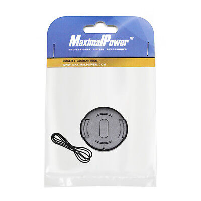 MaximalPower 43mm Front Lens Cap Snap-on Cover for Canon Nikon Olympus Sony Cam