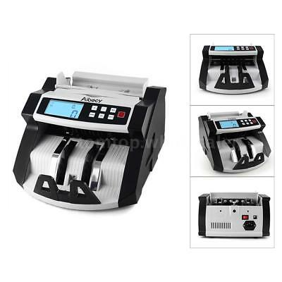 Aibecy Money Bill Counter Professional Uv Currency Cash Counting Machine Bank