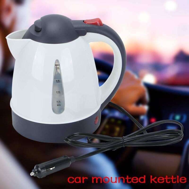 Auto Kettle In-car Elektrische Edelstahl Wasserkocher Teekocher Heizung Reise