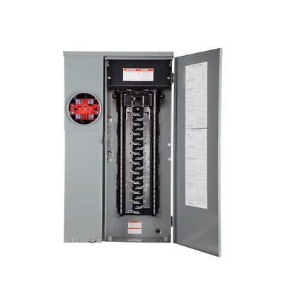 Main Breaker Load Center Panel Meter 200 Amp 42 Circuit 42 Space Solar Ready
