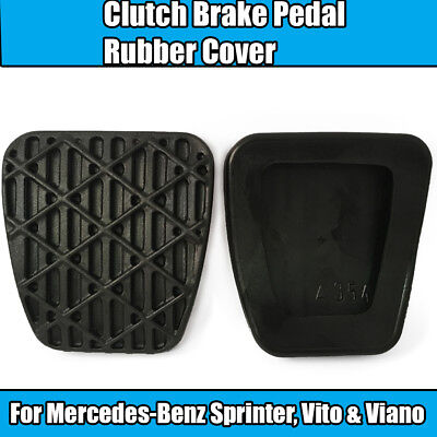 1x Mercedes Viano W639 CDi 2.0 Febi Rubber Brake Pedal Pad Cover Black