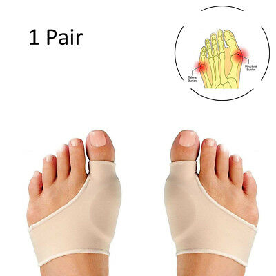 2X Bunion Corrector &Relief Sleeve with Gel Pads Cushion Splint Orthopedic Prote