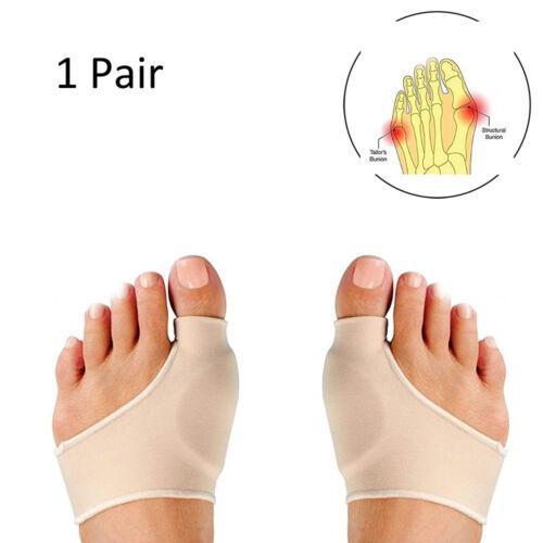 2X Bunion Corrector &Relief Sleeve with Gel Pads Cushion Spl