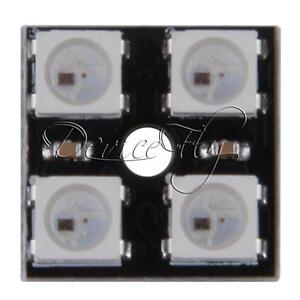 WS2812B-2-2-4-Bit-Full-Color-5050-RGB-LED-Lamp-Panel-Light-For-Arduino