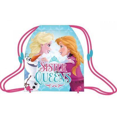 Frozen Sportbeutel Turnbeutel Schwimmbeutel Sporttasche Geschenke für Kinder (Frozen Kinder Geschenke)