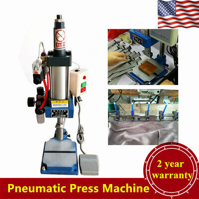 440lb200kg Pneumatic Punch Press Machine Desktop Punching Machine New Usa Stock