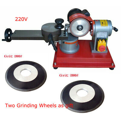 Round Carbide Saw Blade Grinder Sharpener Machine 220v