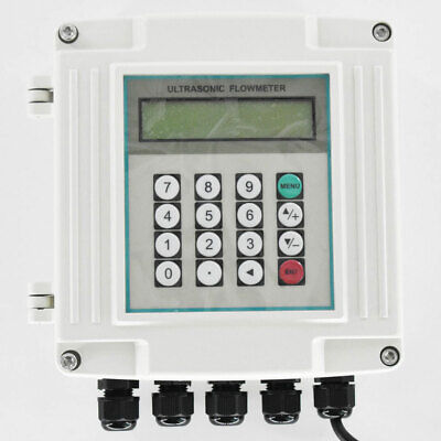 Ultrasonic Flowmeter Digital Water Flow Meter Tuf-2000sw Dn50-700mm Wall-mounted