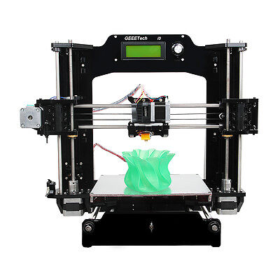 Support 6 filaments Geeetech Full Acrylic Prusa I3 DIY KIT Pro X 3D Printer