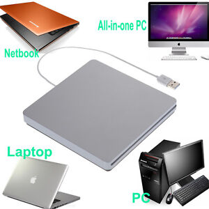 USB External Slot CD ±RW Drive Burner Superdrive for Apple iMac Mini Mac Pro
