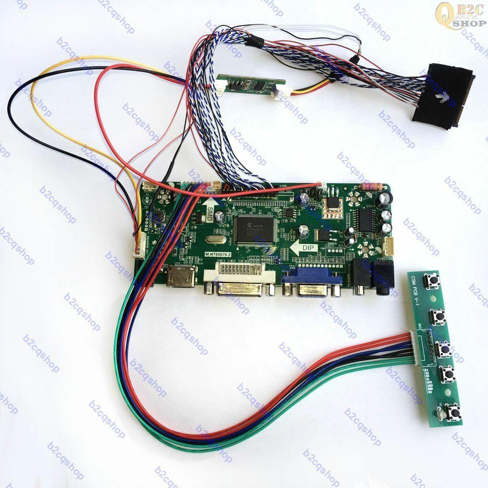 LCD LED Driver Board Converter LVDS Kit for LP154WP2 TL A1 HDMI+DVI+VGA+Audio
