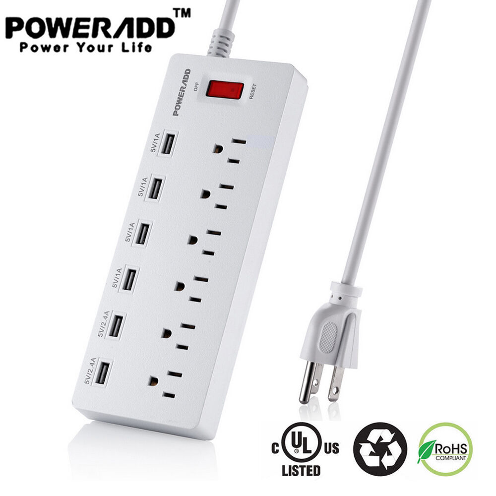 usb charging port power strip