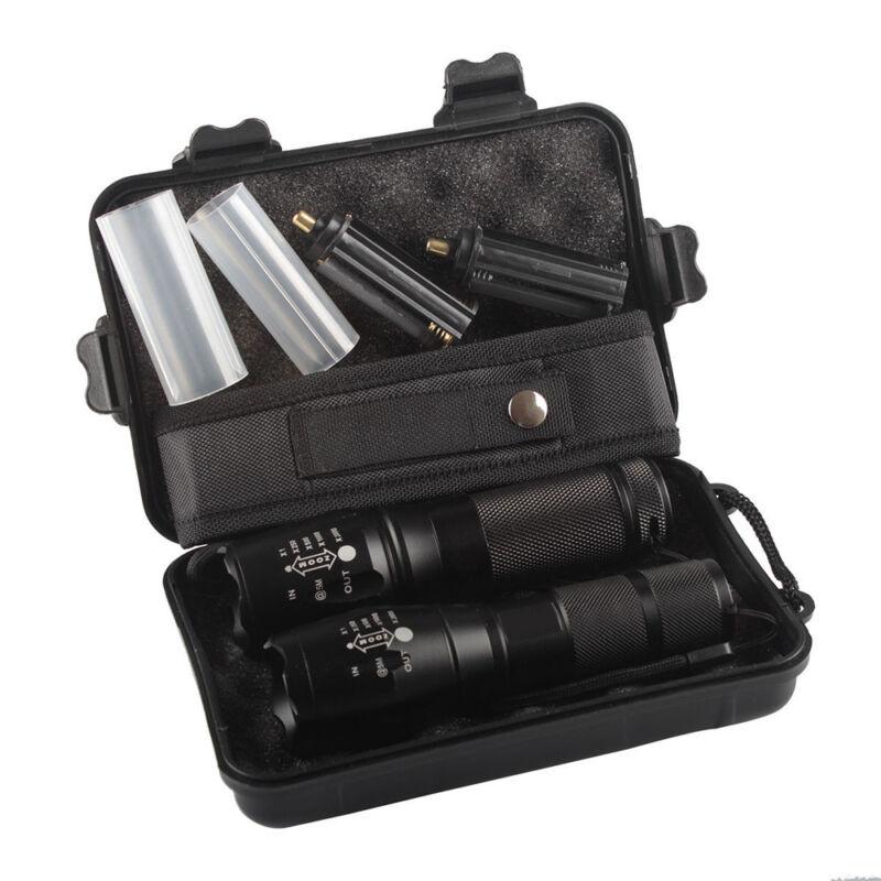 2x 5000lm X800 ShadowHawk Tactical Flashlight LED Military G