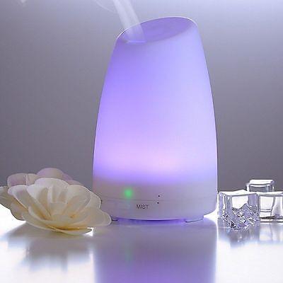 Umidificatore ad Ultrasuoni, Diffusore di Aromi e Oli Essenziali, 120 ml - 7 LED