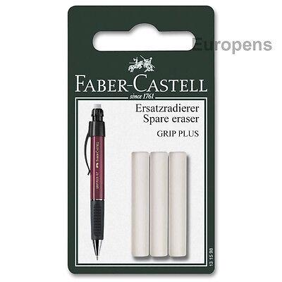 Faber-castell Eraser Refill Grip Plus 131598 Pack Of 3