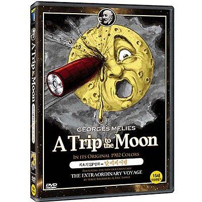 A Trip to the Moon (1902) Georges Méliès / DVD, NEW