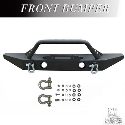 On Sale Front Bumper For 2007-2017 JEEP WRANGLER JK Rock Crawler w/ Winch Plate