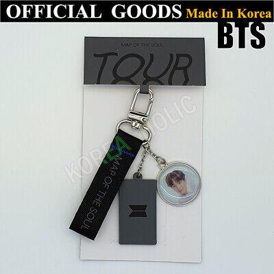 BTS Map Of The Soul Tour Keyring SUGA OFFICIAL GOODS Bangtan Boys Keychain K-Pop